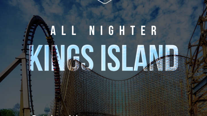 King's Island All Nighter logo image