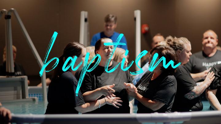 Sunday Baptisms logo image