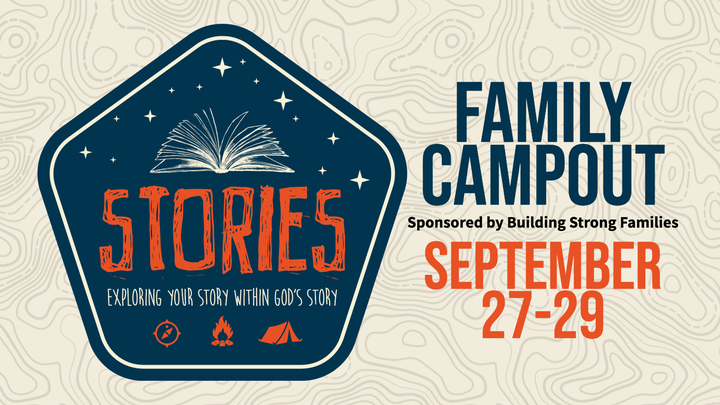 Family Camping Weekend - Stories - Hosted by Building Strong Families logo image