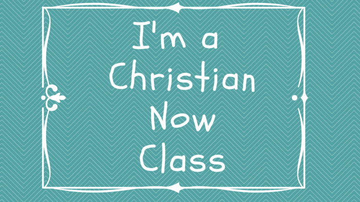 I'm a Christian Now  logo image