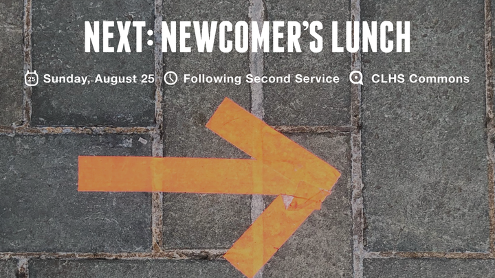NEXT: NEWCOMER'S LUNCH logo image