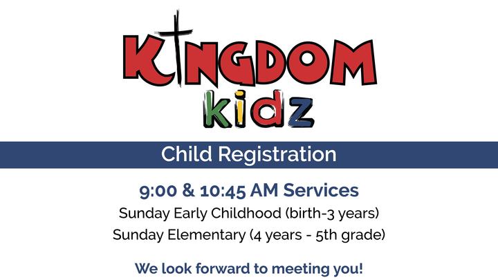 Kingdom Kids Registration 2019/2020 logo image