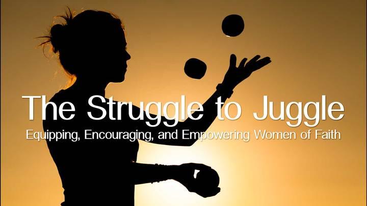 The Struggle to Juggle Fall Women's Conference logo image