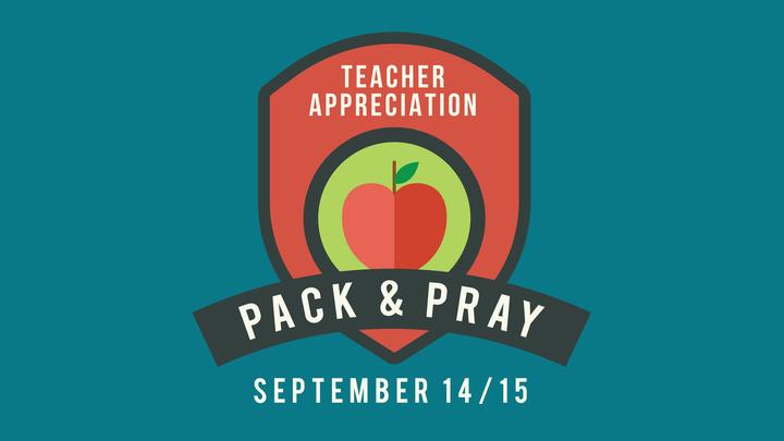 Pack & Pray 2019 logo image