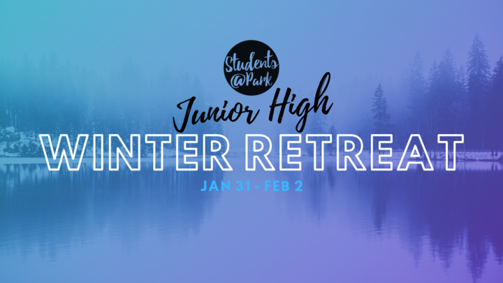 Junior High Winter Retreat 2020 logo image