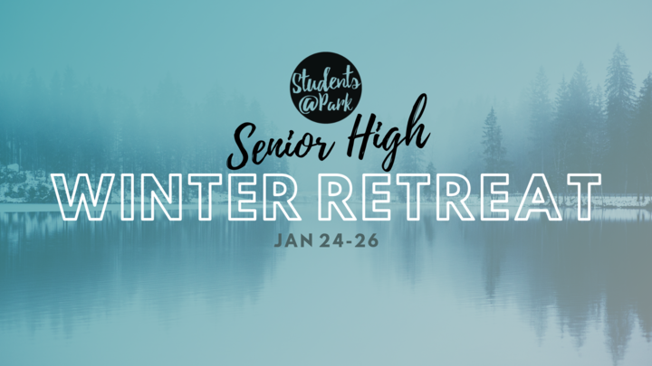 Senior High Winter Retreat 2020 logo image