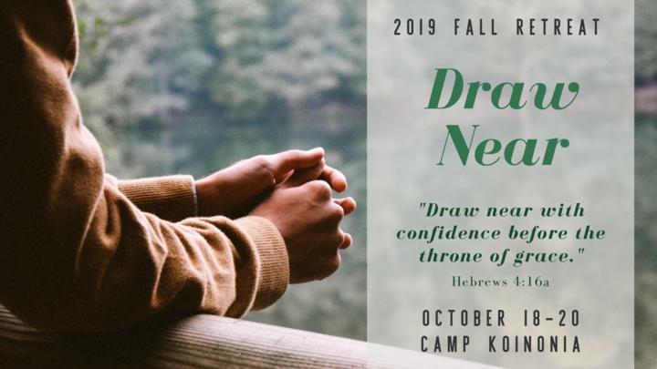 2019 Redeemer Fall Retreat: Draw Near logo image