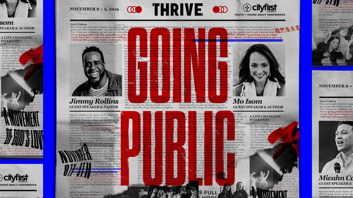 THRIVE CONFERENCE logo image