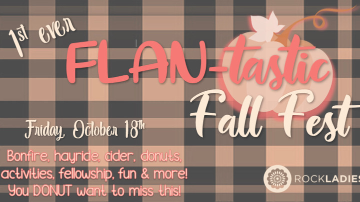 Rock Ladies Flan-tastic Fall Fest logo image