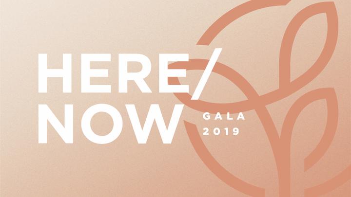 Here/Now Gala  logo image