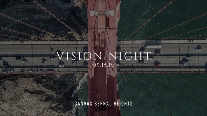 Canvas Bernal Heights Vision Night logo image