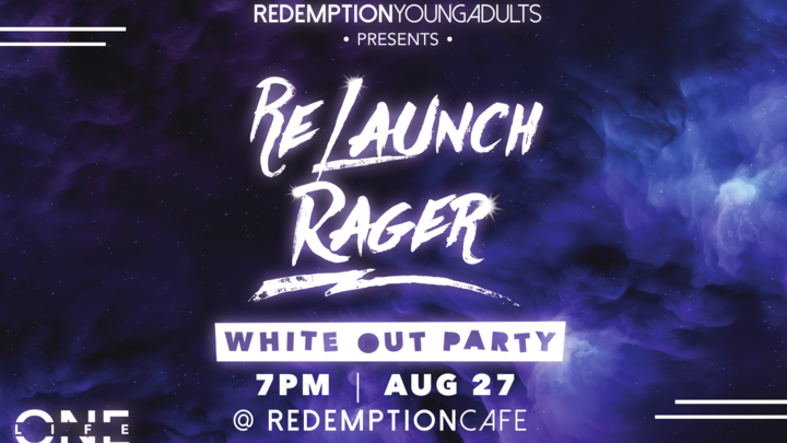 Young Adults ReLaunch Rager logo image
