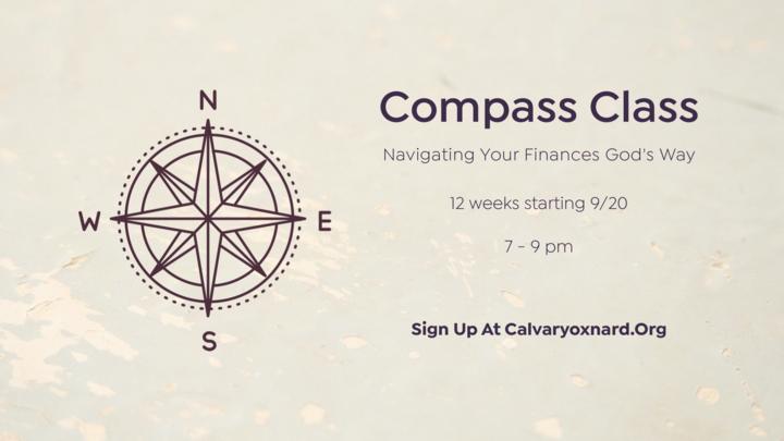 Compass Class - Navigating Your Finances God's Way logo image