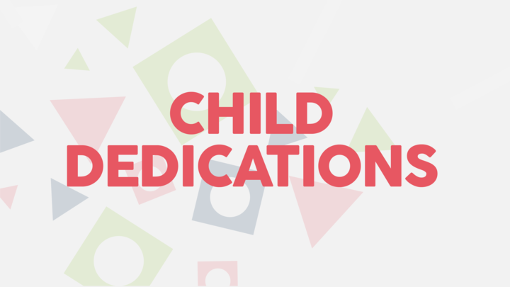 TG September Child Dedications logo image