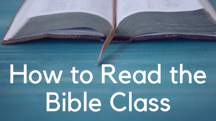 How to Read the Bible Class logo image