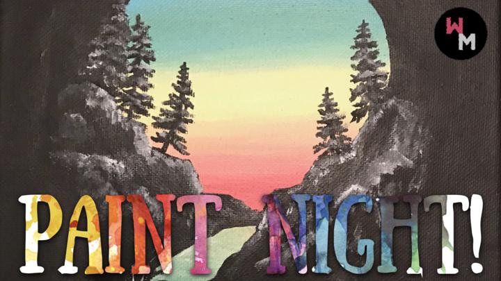PAINT NIGHT! logo image