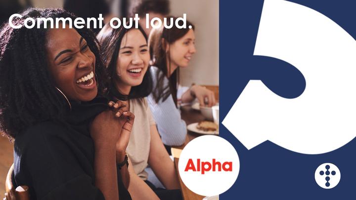 Alpha logo image
