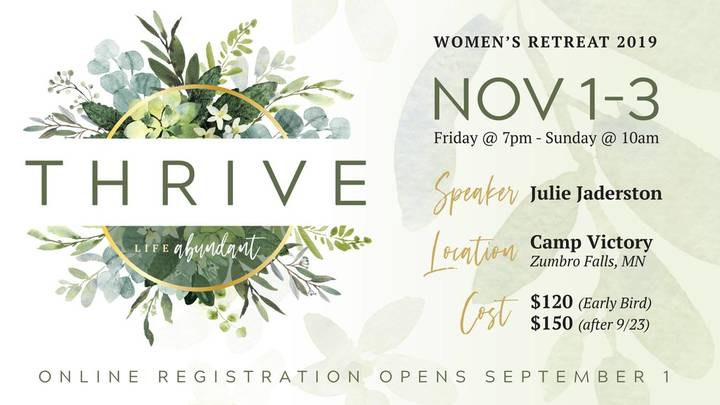 Thrive Women's Retreat logo image