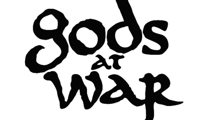 Gods at war  logo image