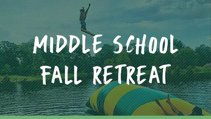 Middle School Fall Retreat  logo image