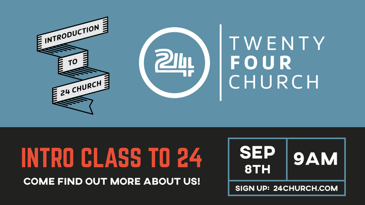 Introduction to 24 church logo image