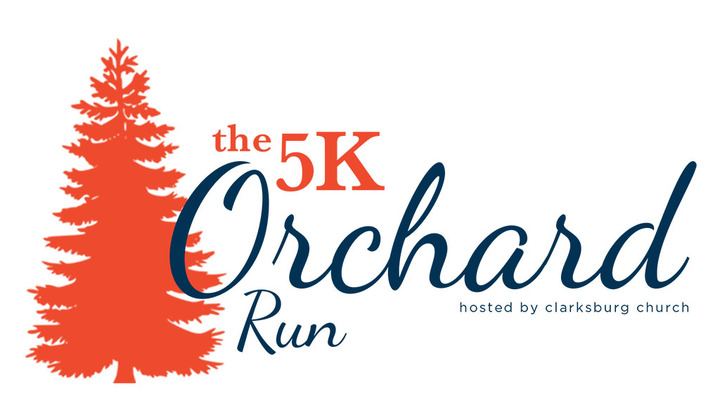 The 5k Orchard Run logo image