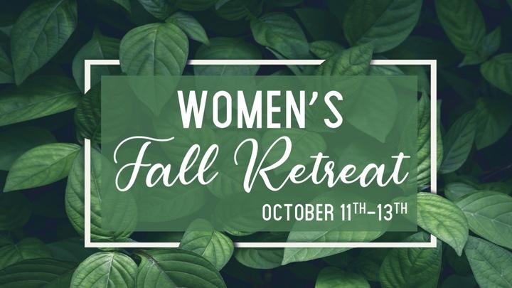 Women's Fall Retreat 2019 logo image