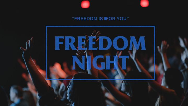 Freedom Night   September 8th  logo image