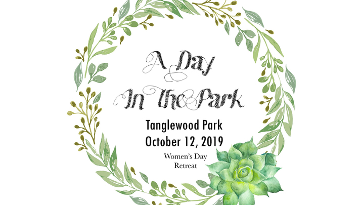 """""""A Day in the Park"""" Women's Retreat logo image"""