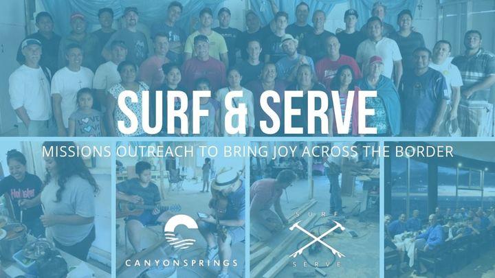 Surf and Serve 2019 logo image