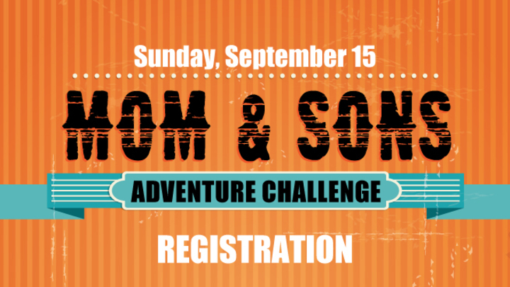 Mom & Sons Adventure Challenge logo image