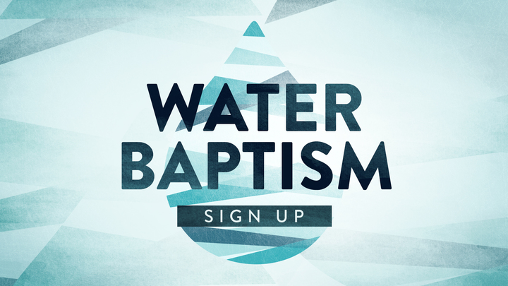 Water Baptism September logo image
