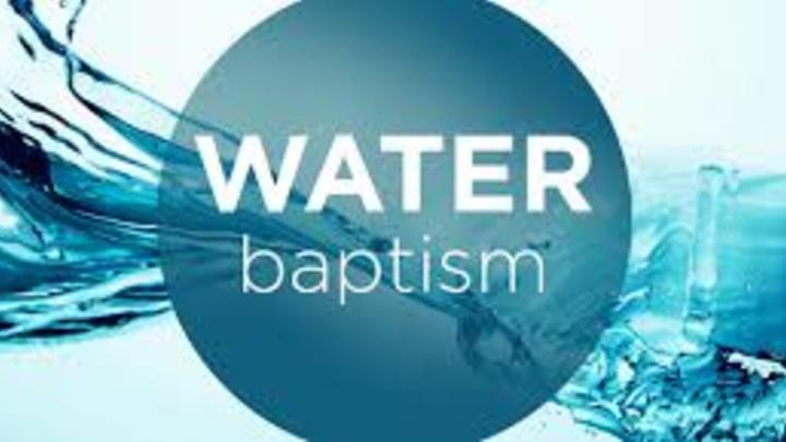 Delta Water Baptism Service  logo image