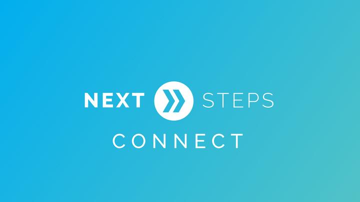 Next Steps: Connect logo image