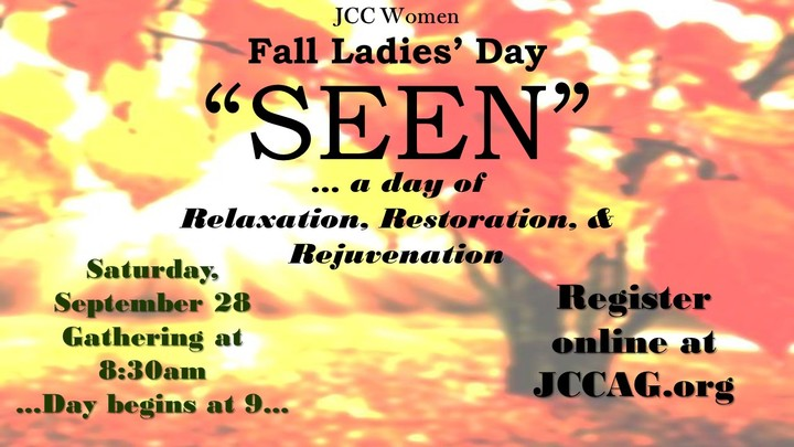SEEN Fall Ladies Day logo image