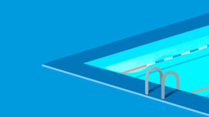 High School Swim Party logo image