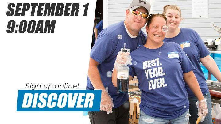 Discover Class | September 1 logo image