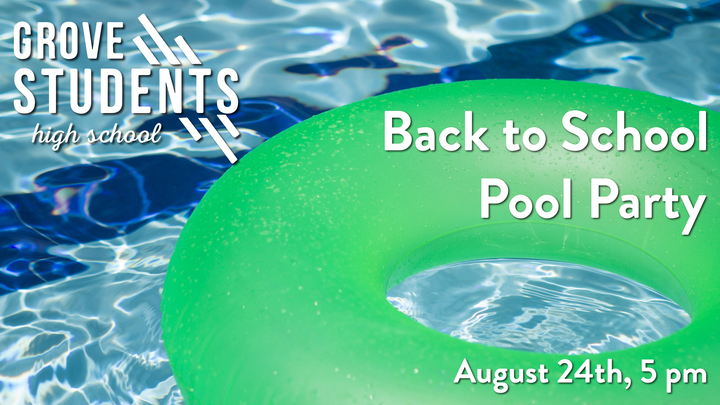 High School Back to School Pool Party logo image