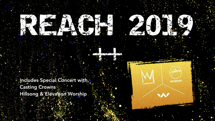 REACH Conference & Hillsong & Elevation Worship Concert logo image