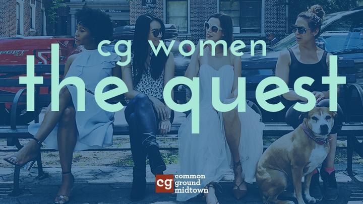 CG Women: The Quest - October 2019 logo image