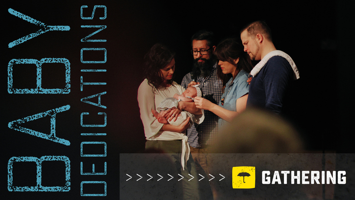 Baby Dedication Service in The Gathering logo image