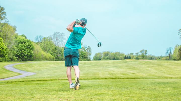 Men's Golf Scramble logo image