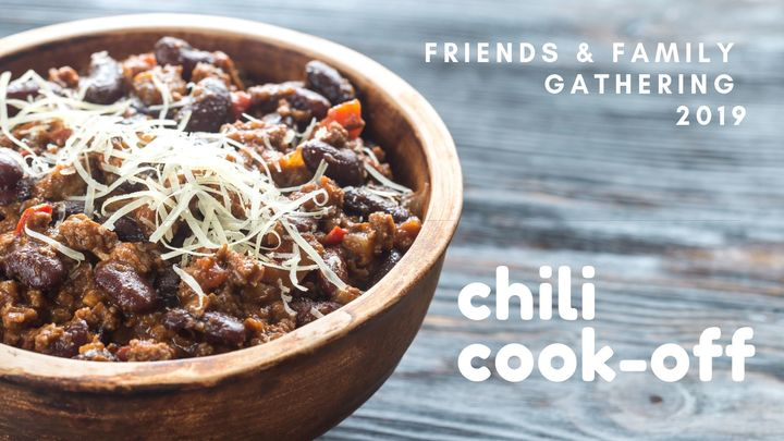 Chili Cook-Off - Friends and Family Gathering logo image