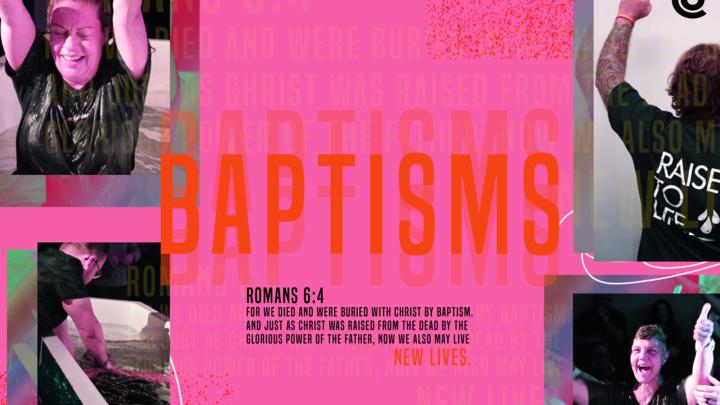 September Baptisms logo image