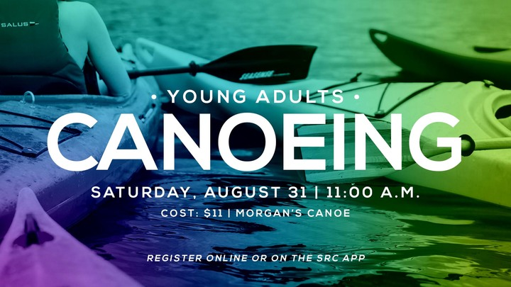 Young Adults Canoeing  logo image