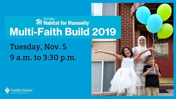 Habitat Multi-Faith Volunteer Work Day logo image