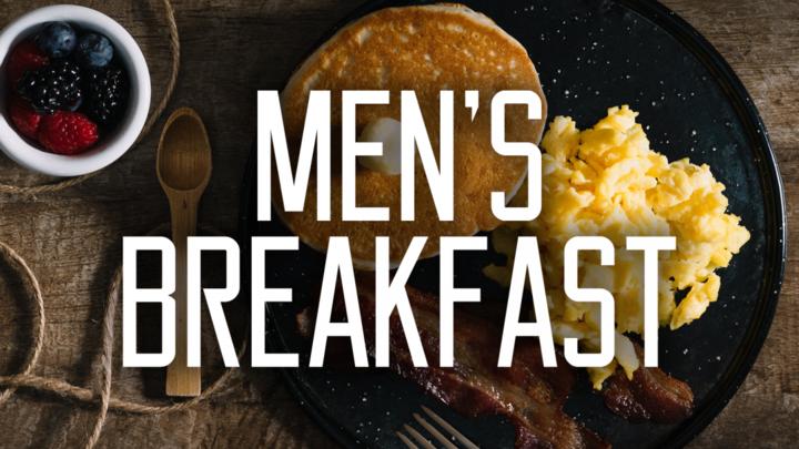 Monthly Men's Breakfast logo image