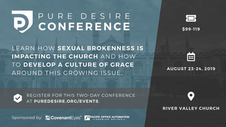 Pure Desire Conference logo image