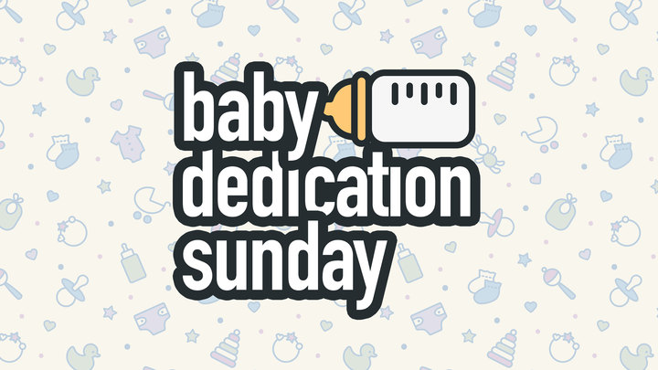 Baby Dedication Sunday logo image