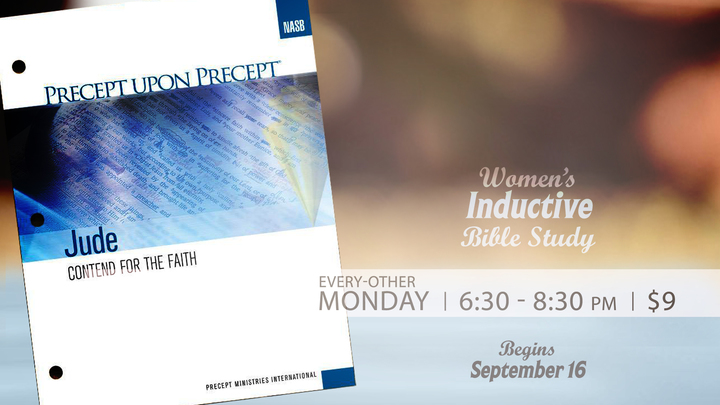 Women's Fall Inductive Bible Study --  Jude: Contend for the Faith logo image
